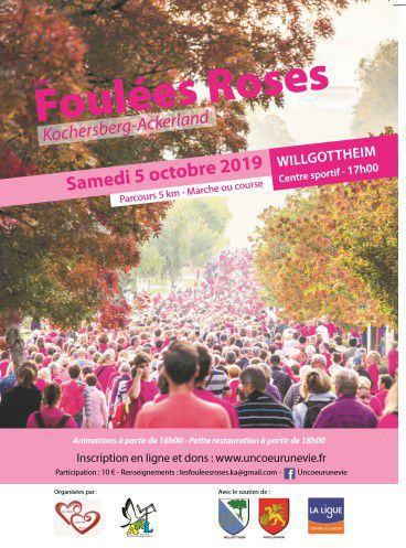 FOULEES ROSES 2019